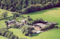 Hele Farm in the Devon/Cornwall countryside